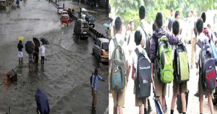 Photo of Heavy Rains in Nagpur, collector orders the shutdown of schools and colleges