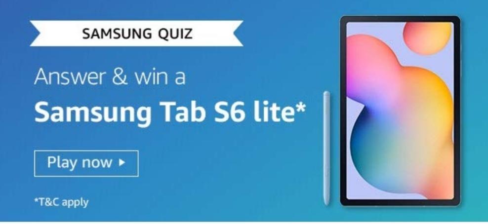Amazon Samsung Tab S6 Lite