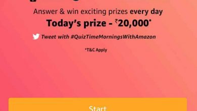 Photo of Amazon Quiz 25th November 2019 – Answers And Win 20000Rs Pay Balance (2 Prize)