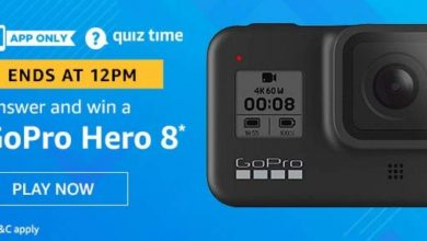 Photo of Amazon Quiz 20th December 2019 – Answers And Win GoPro Hero 8 Camera