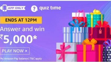 Photo of Amazon Quiz 2nd December 2019 – Answers And Win 5000 Rs Amazon Pay Balance(10 Prize)