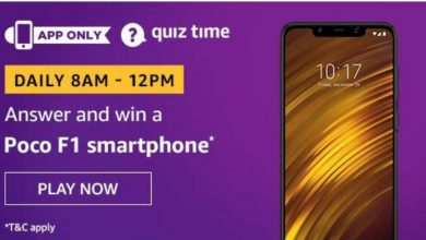 Photo of Amazon Quiz 8th December 2019 – Answer And Win Poco F1 SmartPhone