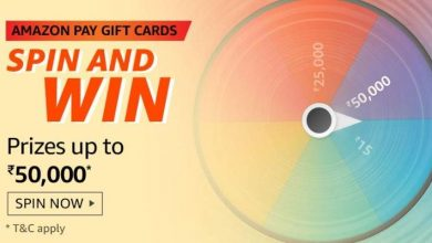 Photo of Amazon Spin And Win Gift Card Quiz Answers For 1st Feb 2020: Win Prize Up to 50,000 Rs