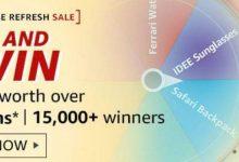 Photo of Amazon Wardrobe Refresh Sale Spin & Win Quiz – Prizes Worth ₹3L | 15000+ Winners