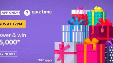 Photo of Amazon 25th May 2020 Quiz Answers: Play And Win 25,000 Rs Pay Balance