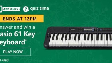 Photo of Play Amazon Quiz And Win Casio 61 Key Keyboard – 03rd Jan 2020