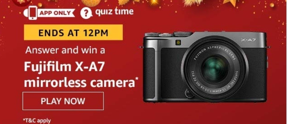 Fujifilm X-A7 Mirrorless Camera