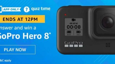 Photo of 17 January Amazon Quiz Answers: Play And Win GoPro Hero 8