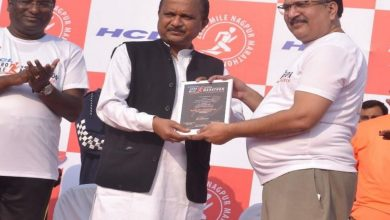 Photo of 4th Edition of HCL Zero Mile Marathon in City