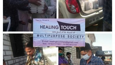 Photo of Healing Touch in Association with IPAC Distributed Food Packets in Slum Areas
