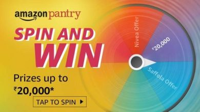 Photo of Play Amazon Pantry Spin And Win Quiz And Win Prize Up to 20000Rs – 18th Jan 2020