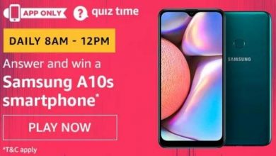 Photo of Amazon 19th Jan 2020 Quiz Answer: Play And Win Samsung A10s Smartphone