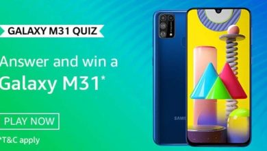 Photo of Amazon Samsung Quiz Answers: Play And Stand A Chance To Win Samsung Galaxy M31