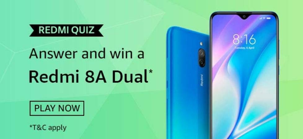 Amazon Redmi Quiz Answers