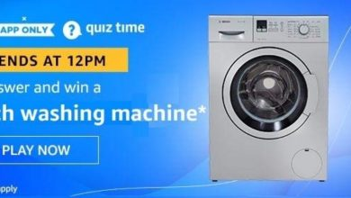 Photo of Amazon Quiz 14th December 2019 – Answers And Win Bosh Washing Machine