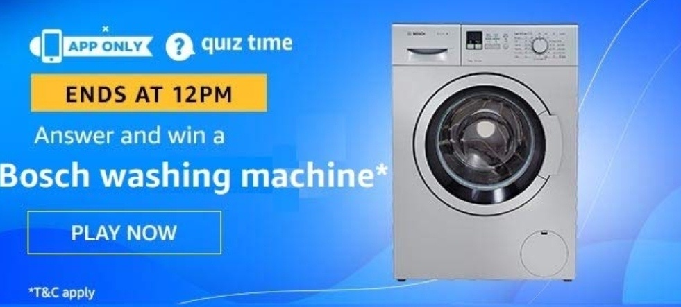 Amazon Quiz 14 December 2019 Answers