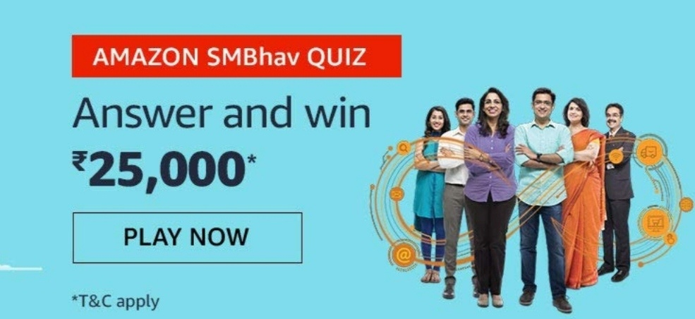 Amazom SMBhav Quiz Answers