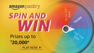 Photo of Amazon Pantry Spin And Win Quiz – Answers And Win 20000 Pay Balance