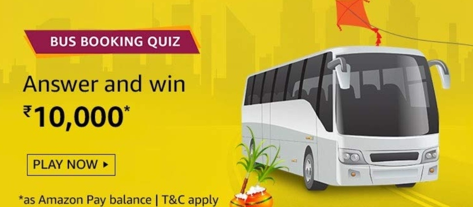 Amazon Bus Booking Quiz Answers