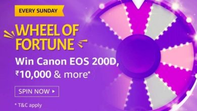 Photo of Amazon Sunday Special Spin And Win Quiz Answers: Play And Win 10000 & More