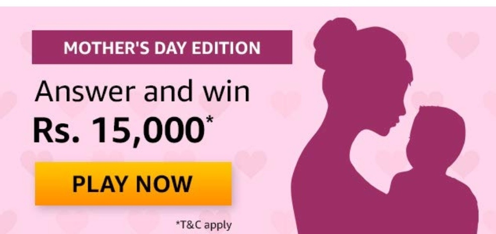 Amazon Mothers Days Edition Quiz Answers