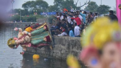 Photo of Futala Lake to be in a Bad Shape after Ganesh Idol immersions