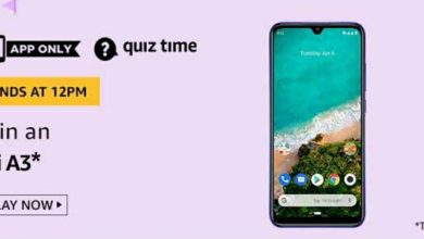 Photo of Amazon Quiz 12 May 2020 Answers: Play And Win Mi A3 Mobile