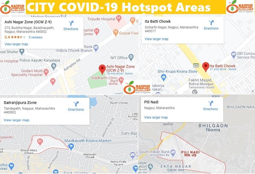 COVID-19 Nagpur Hotspot Area