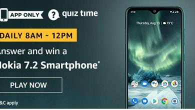 Photo of Amazon 04th Mar 2020 Quiz Answers: Play And Win Nokia 7.2 Smartphone
