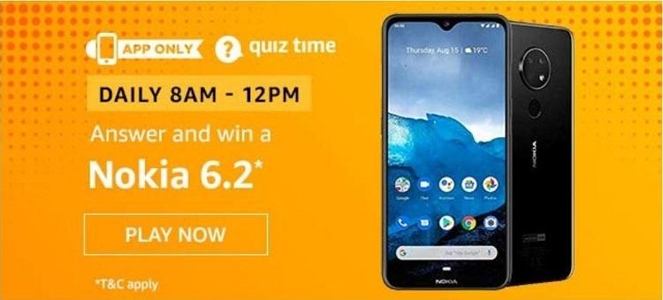 Nokia Amazon Quiz Answers