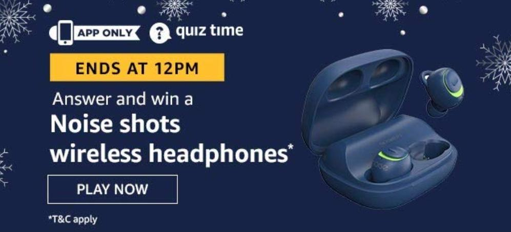 Nose Shot Wireless Headphones Quiz Answers
