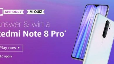 Photo of Play Amazon Mi Quiz And Win Redmi Note 8 Pro Mobile – 09 Jan 2020 (7 Prizes)