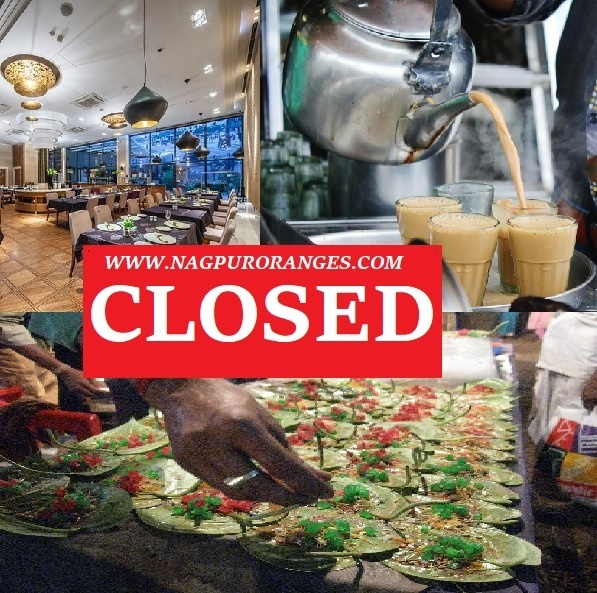 Restaurant, PAN And Tea Stall Closed