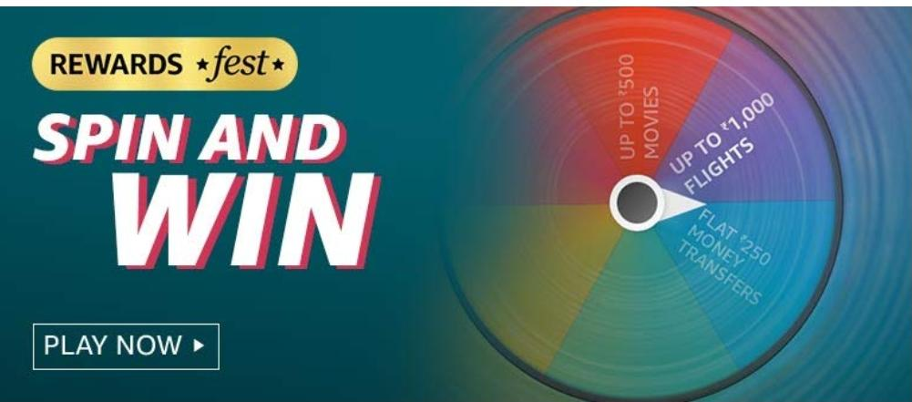 Rewards Fest Spin And Win Quiz Answers