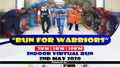 Photo of Run4warriors: Virtual Indoor Event Paid Tribute to Corona Warriors attracting over 3500