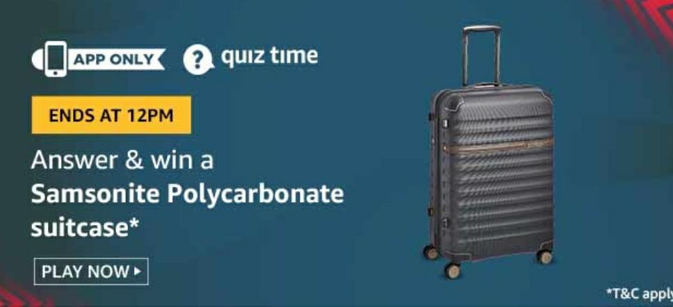 Samsonite Polycarbonate Suitcase