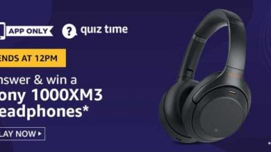 Photo of Amazon 25 Feb 2020 Quiz Answers – Play And Win Sony 1000XM3 Headphone