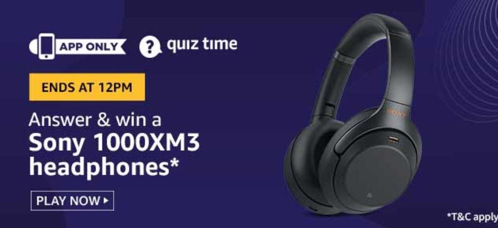 Sony 1000XM3 Headphone