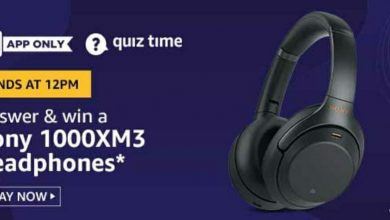 Photo of Amazon 17th April 2020 Quiz Answers: Play And Win Sony 1000XM3 Headphones