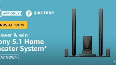 Photo of Amazon Quiz 28th Jan 2020 Answers: Play And Win Sony 5.1 Home Theater System