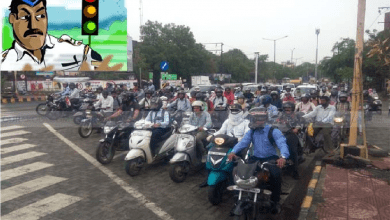 Photo of Nagpur Traffic Police Introduces Alarm System at Signals for Violators