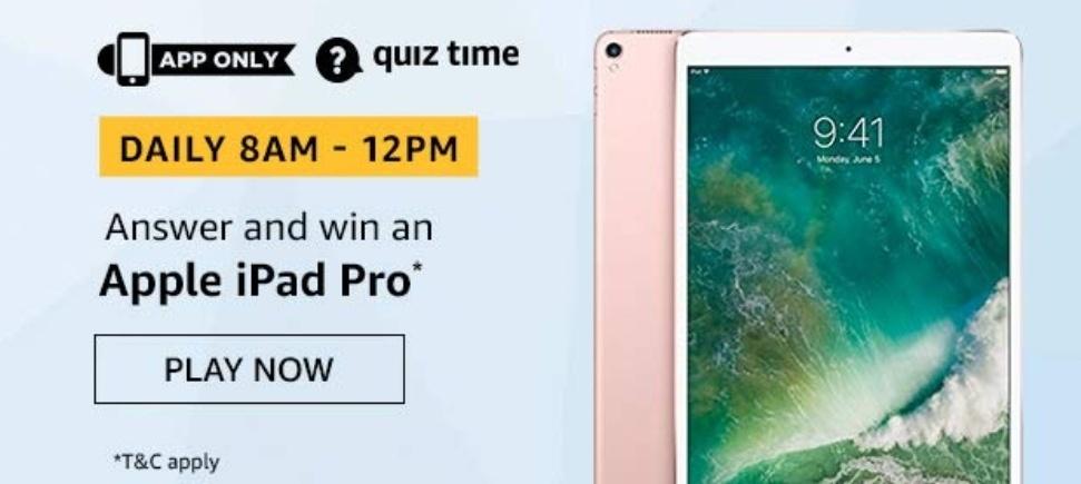 Win Apple iPad Pro