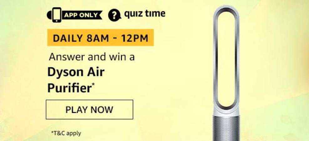 amazon Quiz 7th Dec Answer