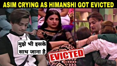 Photo of Himanshi Khurana Evicted From Bigg Boss House, Asim Gets Emotional