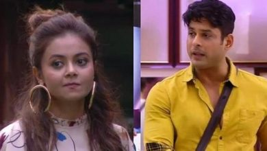 Photo of Siddharth Shukla's Goodbye fight with Devoleena Bhattacharjee