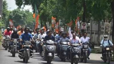 Photo of 52 in BJP bike rally faces strict and huge fines traffic rules