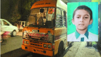 Photo of 8-year-old young boy crushed to death in city
