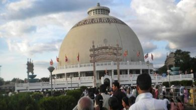 Photo of Thousands of Buddha Follower Reach Nagpur for Dhamma Chakra