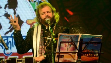 Photo of Hansraj Hans in City enthralled Nagpurians it