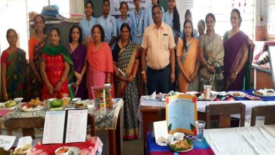 Photo of M.P. Deo Memorial Science College Observes National Nutrition Month